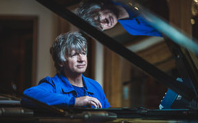 Neil Finn and piano