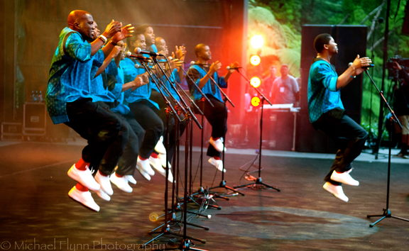 No captionLadysmith Black Mambazo - pic by Michael Flynn