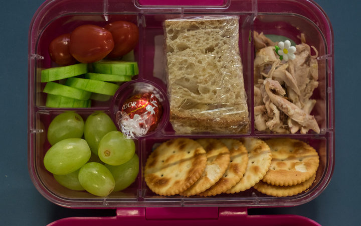 Lunch box from decile 10 school