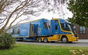 New Zealand's mobile surgical bus