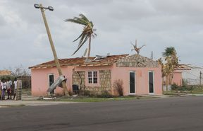 An estimated 95 percent of Barbuda's building's have been destroyed