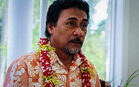 Apulu Lance Polu the president of the Samoa journalist's association, JAWS, who stepped down to face criminal charges in September 2017.