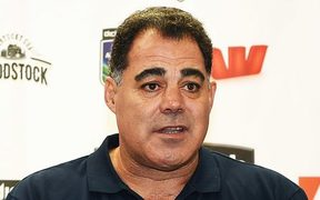 Kangaroos coach Mal Meninga, pictured here during the 2016 NRL Auckland Nines draw announcement in Auckland, Wednesday, 18 November 2015. Copyright photo: Andrew Cornaga / www.photosport.nz