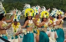 Cook Islands dancers