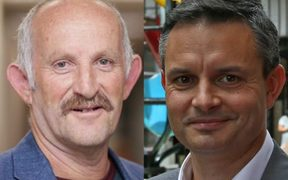 Gareth Morgan, James Shaw