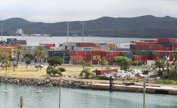 Noumea port, New Caledonia.