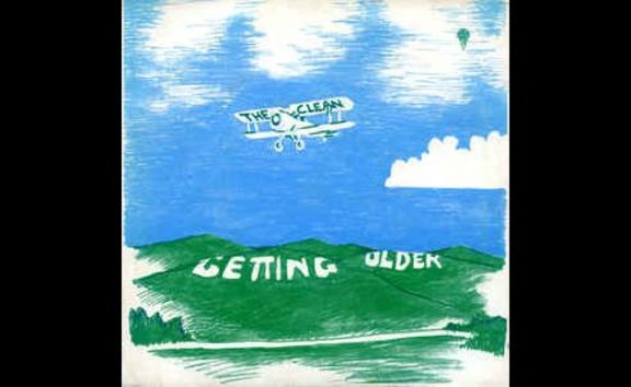 Getting Older - The Clean - cover art. single released 1982