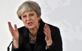 During the speech in Florence, Italy, Theresa May offered to allow EU migrants to continue to live and work in Britain, but through a new registration system