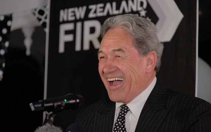 New Zealand First leader Winston Peters is sitting pretty as Kingmaker.