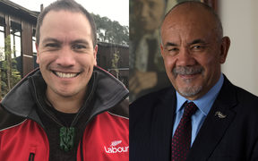 Tamati Coffey, left, and Te Ururoa Flavell