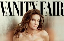 Caitlyn Jenner on the cover of Vanity Fair.