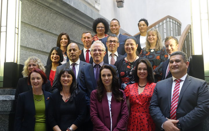 Jacinda Ardern and Labour's new MPs