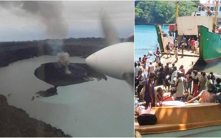 Vanuatu eruption: 'Dunkirk-style' evacuation needed