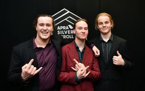 Henry de Jong, Lewis de Jong and Ethan Trembath of Alien Weaponry.