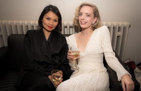 Bic Runga and Chelsea Jade at the Silver Scrolls 2017