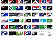 One of these 40 designs could become New Zealand's new national flag.