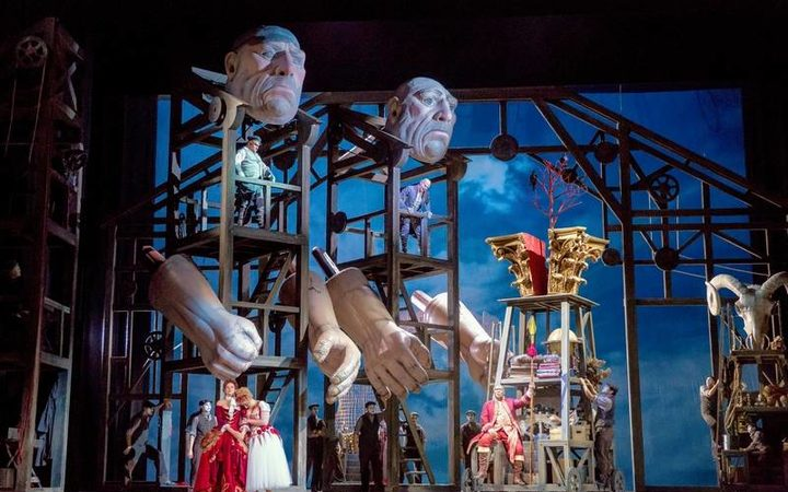 Das Rheingold at Chicago Lyric Opera