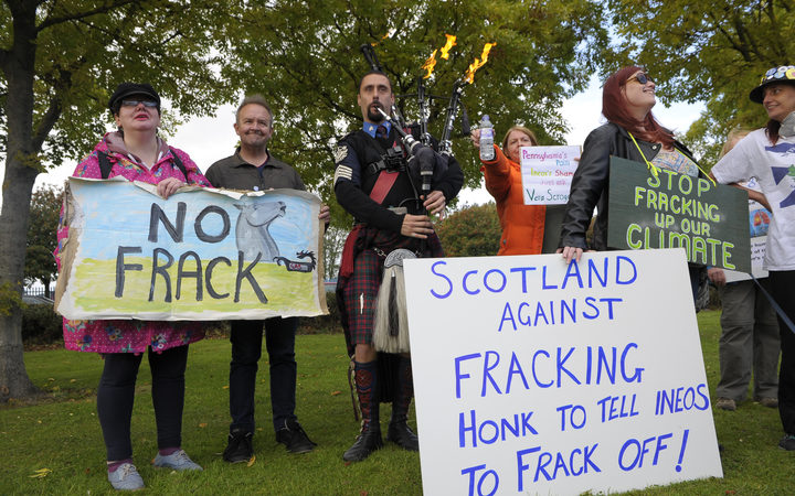 Scottish Government expected to make announcement on fracking in Scotland