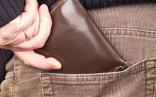 Wallet in pocket