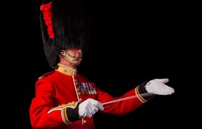 Band leader Lt Col Wolfendale