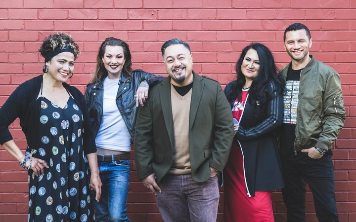 Betty-Anne Monga, Hollie Smith, Che Fu, Annie CrummeBetty-Anne Monga, Hollie Smith, Che Fu, Annie Crummer and Jason Kerrison.r and Jason Kerrison.