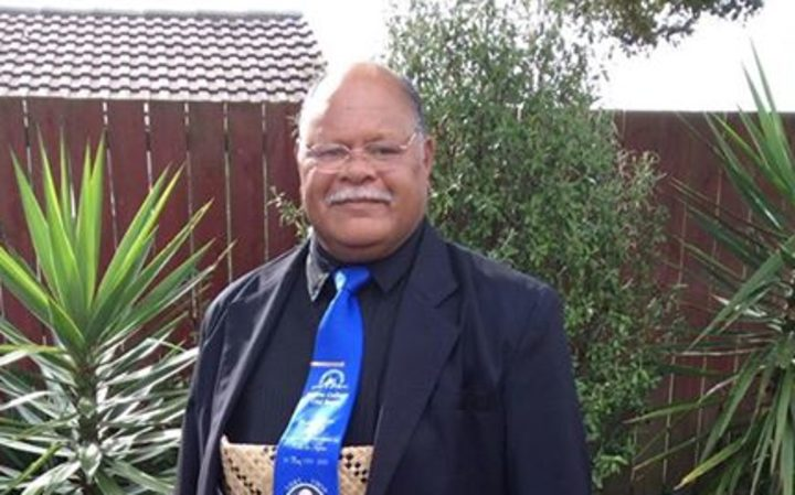 Talakai Aholelei who was driving the bus which crashed near Gisborne on Christmas Eve.
