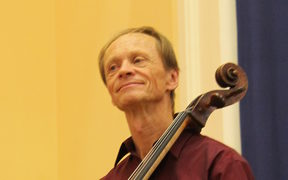 Rolf Gjelsten, Cello, NZSQ performs at China Revisited