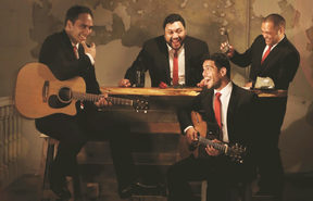 The Modern Maori Quartet.