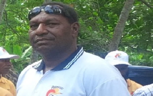 Papua New Guinea's Goilala MP-elect, William Samb.