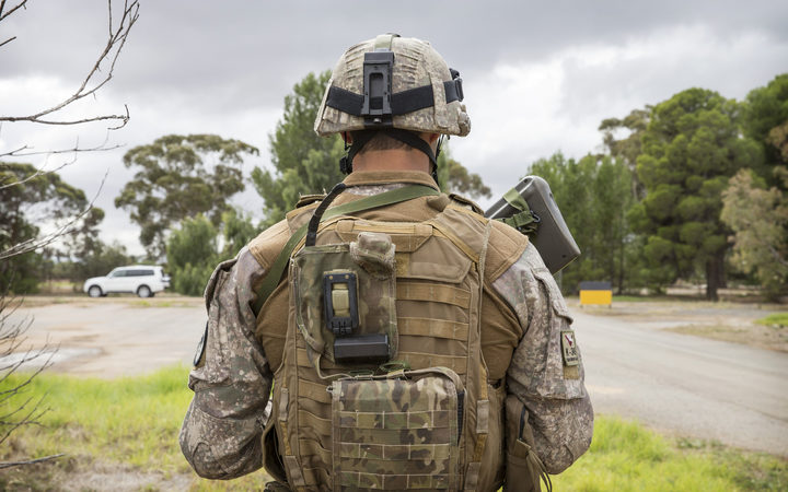 NZDF pers training with Australian counterparts at RAAF Edinburgh Base