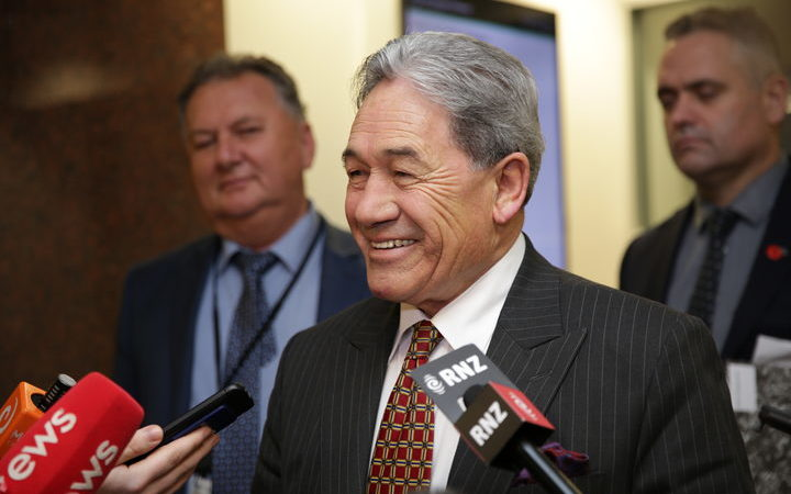 Winston Peters: Further talks with National, Labour