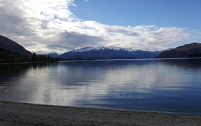 Lake Wanaka seen from Roy's Bay