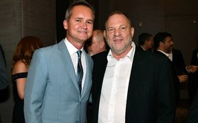 Roy Price and Harvey Weinstein pictured earlier this year.