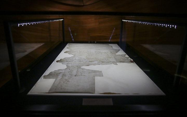 怀唐伊条约。 He Tohu是一个新的永久性展览,展示了三个标志性的宪法文件,塑造了Aotearoa New Zealand。怀唐伊条约,独立宣言和妇女选举申诉。