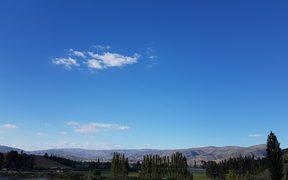Central Otago on Thursday morning, October 19.