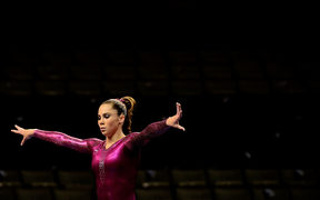 McKayla Maroney during practice before the start of day 4 of the 2012 U.S. Olympic Gymnastics Team Trials in 2012.