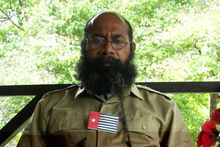 West Papuan independence activist Filep Karma.