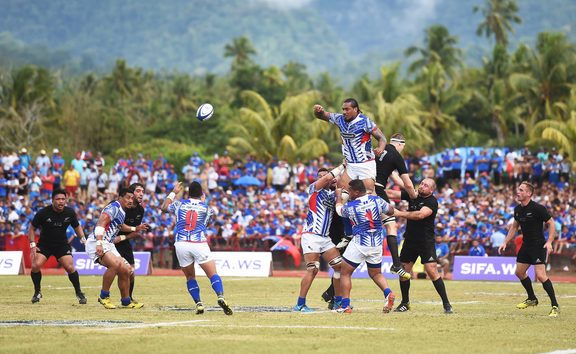 The All Blacks v Manu Samoa test in Apia in 2015 proved a costly exercise for the SRU.