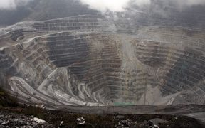 Freeport's Grasberg mine in Papua, Indonesia.