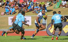 Former Fiji rugby league international Eto Nabuli scored a try against the Drua on his return home.