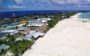 New Funafuti waterfront recreation are, Queen Elizabeth II Park