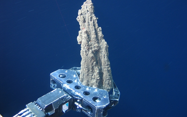 Mining for copper under the sea