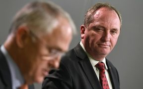 Malcolm Turnbull and Barnaby Joyce.