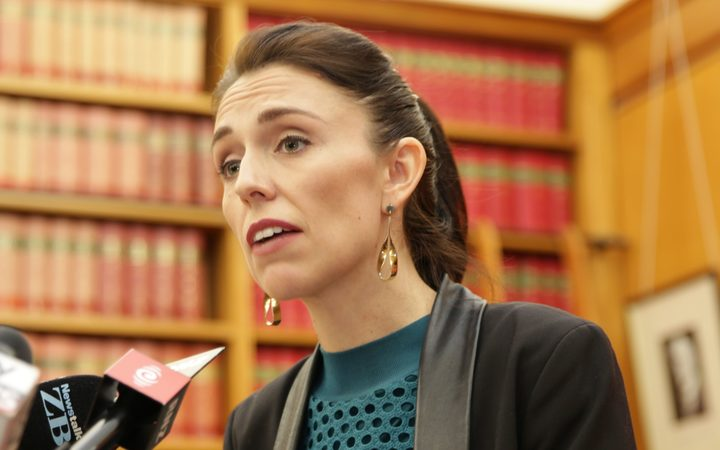 Prime Minister elect Jacinda Ardern announcing the allocation of ministerial portfolios today.