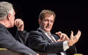 An Audience with Alastair Campbell  - Salford Business School, University of Salford, MediaCity