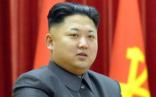 North Korea'e leader Kim Jong-Un.