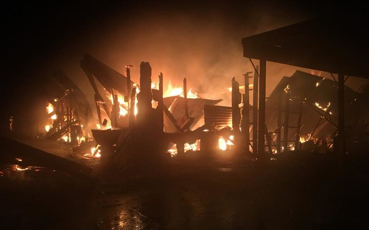 Rarotonga house destroyed by fire