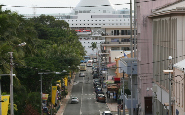 New Caledonia's capital Noumea.