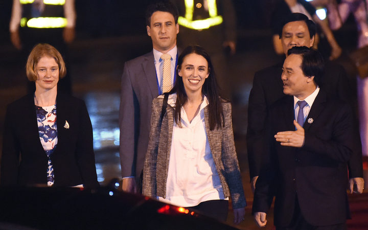 Prime Minister Jacinda Ardern arrives in Vietnam for the APEC Summit in the city of Danang
