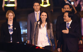 Prime Minister Jacinda Ardern arrives in Vietnam for the APEC Summit in the city of Danang.